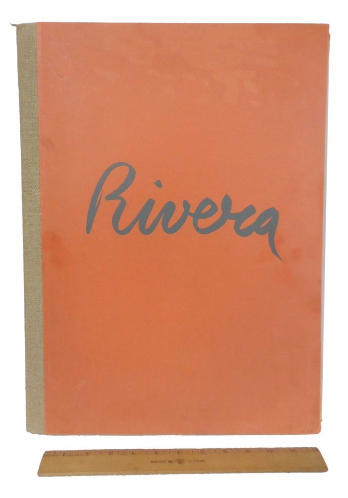 Frescoes of Diego RIVERA Museum of Modern Art MOMA 1933 Oversize 19 Prints