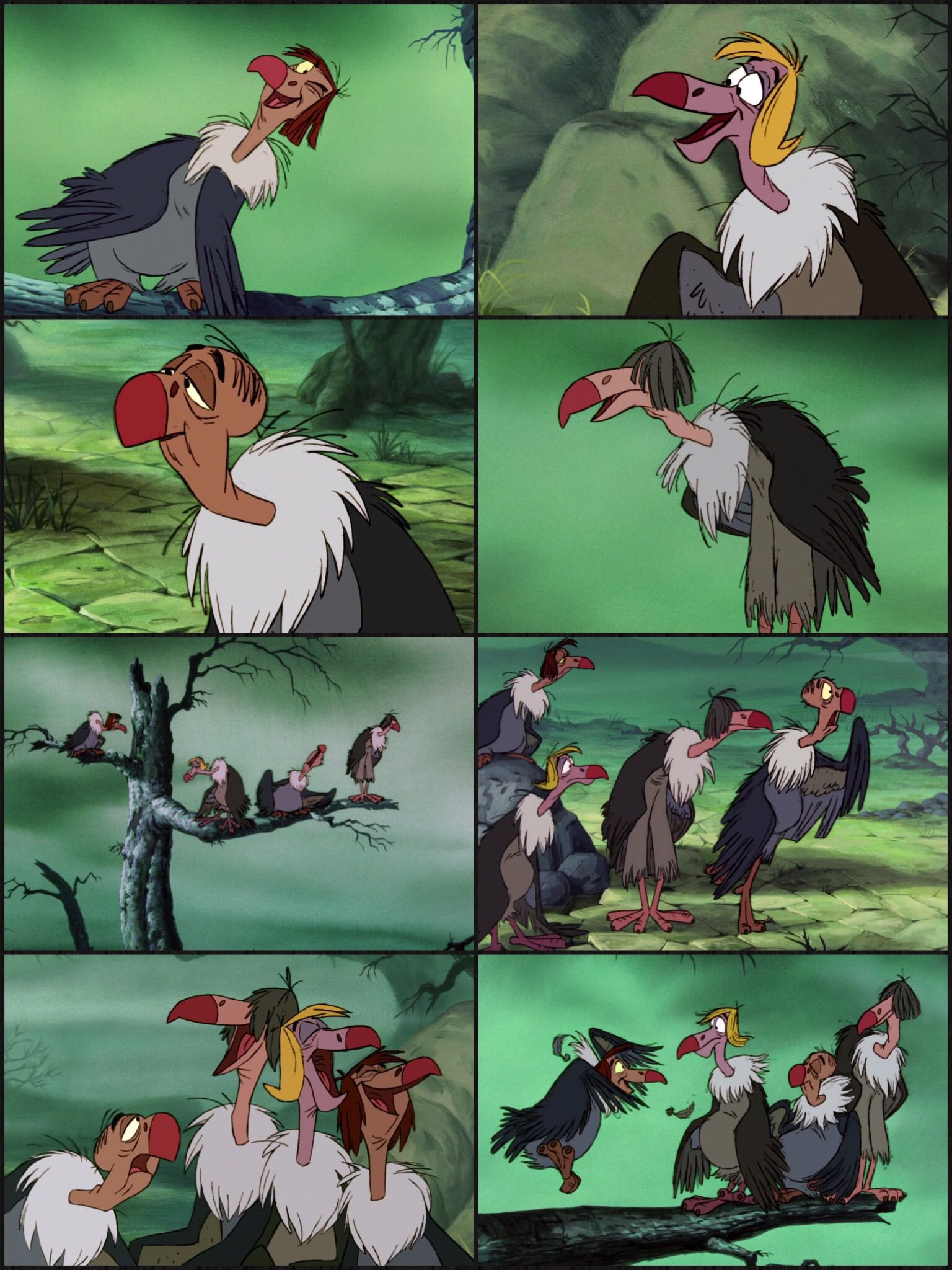 the jungle book vultures what cha wanna do tonight the jungle