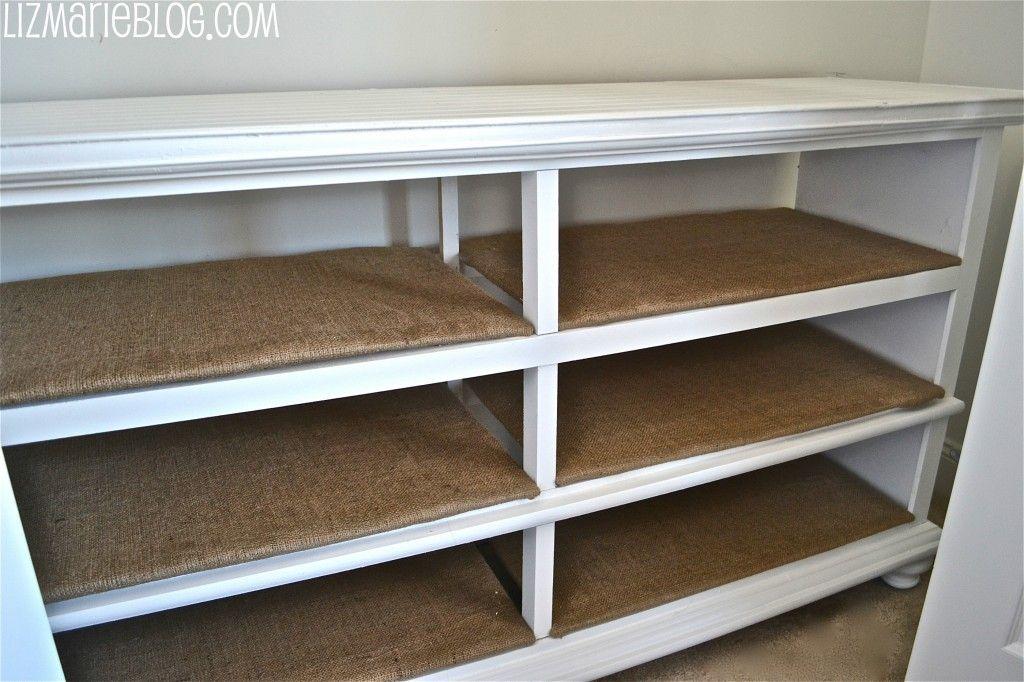 dresser to shelves furniture revamp dresser shelves dresser rh pinterest com