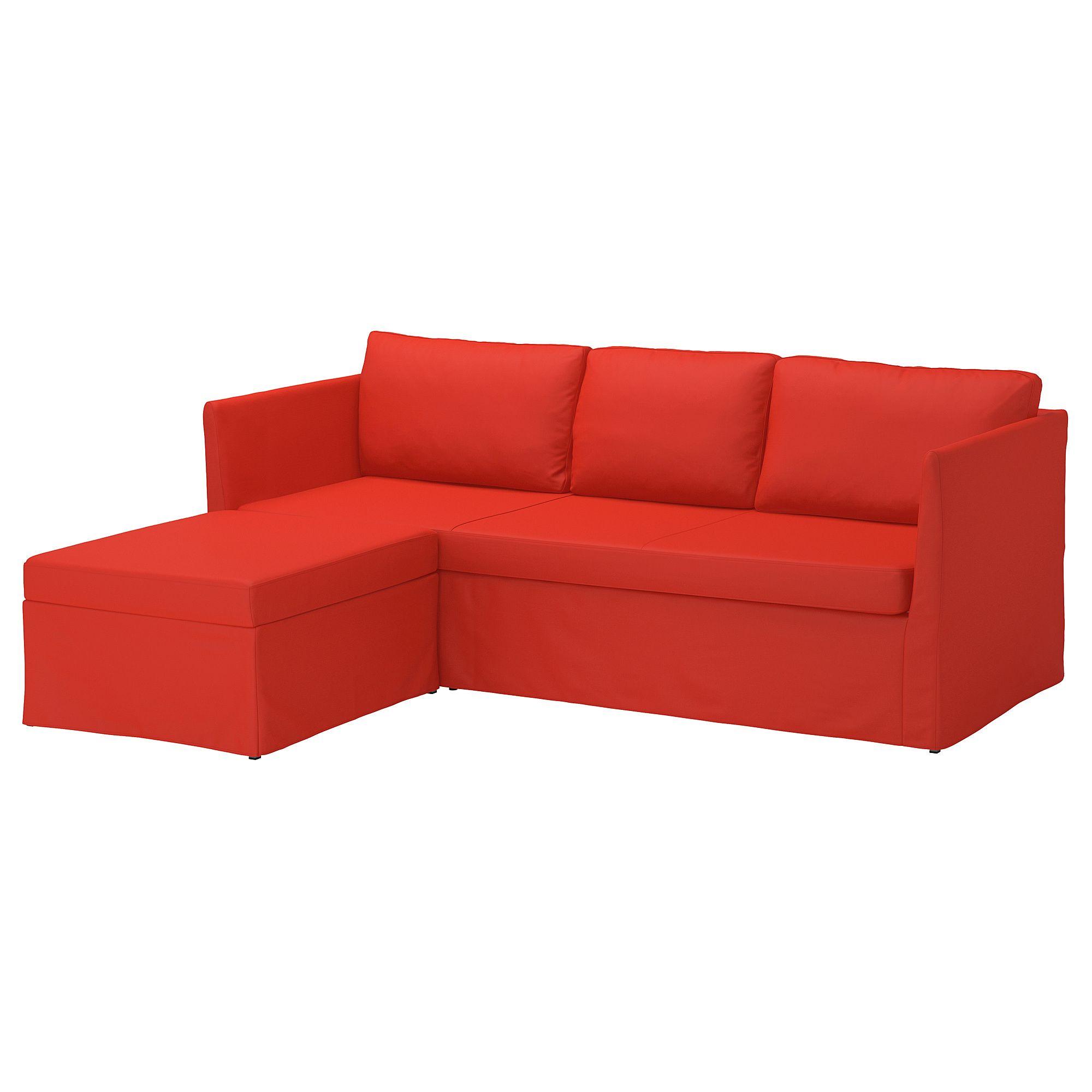 ikea br thult cover for 3 seat corner sectional vissle red orange rh pinterest com