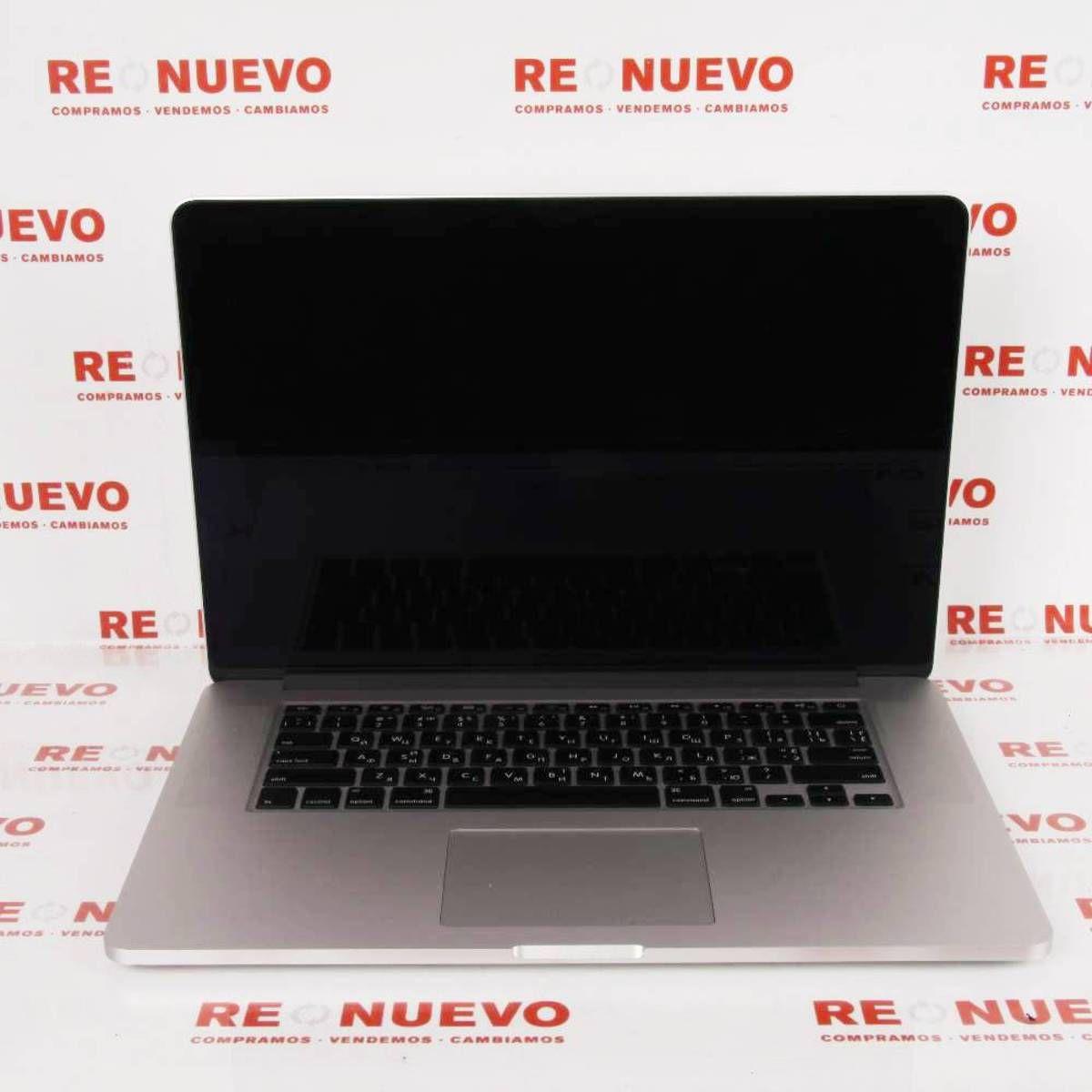 Macbook Pro 15 I7 A 2 6ghz Retina Portatil De Segunda Mano