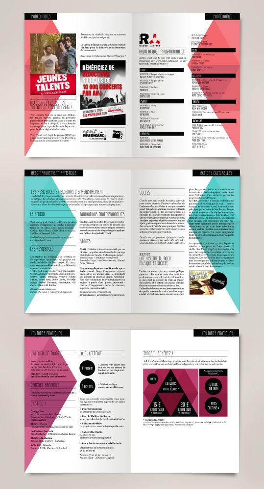 Tandem // programme janvier-mars 2013