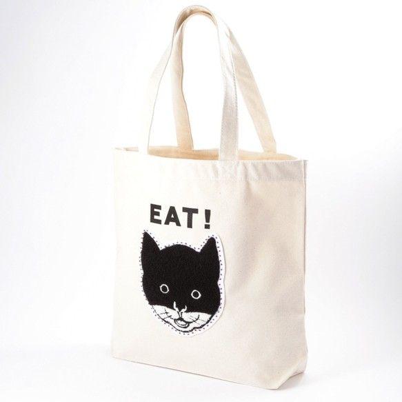 どんなシーンにもお持ち頂ける猫トートバッグの登場です!黒マスクで顔を隠した猫のイラストを、パイル地でボリューム感のあるサガラワッペンにし、キャンバス地のバッグ...|ハンドメイド、手作り、手仕事品の通販・販売・購入ならCreema。