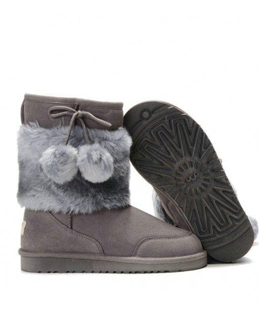 Short Classic 5899 Grey Boots