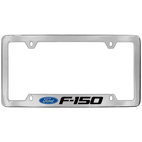 F150 Chrome Plated Engraved Licenseplate Holder Chrome Plating Car Ford F150