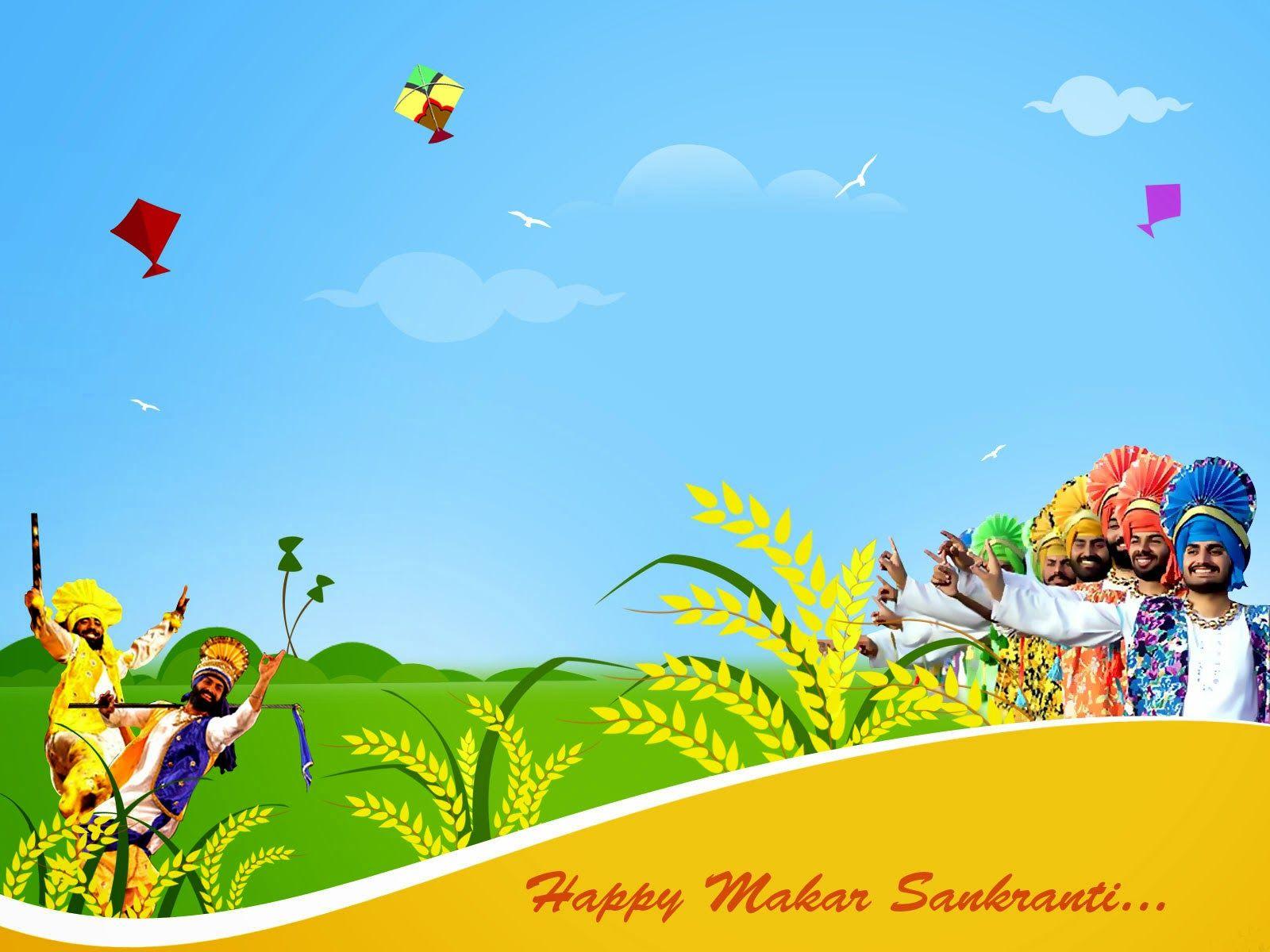 Makar Sankranti Wishes Picture Wallpaper Makar Sankranti Wishes In