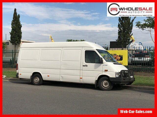 2006 Volkswagen LT HIGH ROOF LWB White Manual M Van #vwvolkswagen #lt #forsale #australia