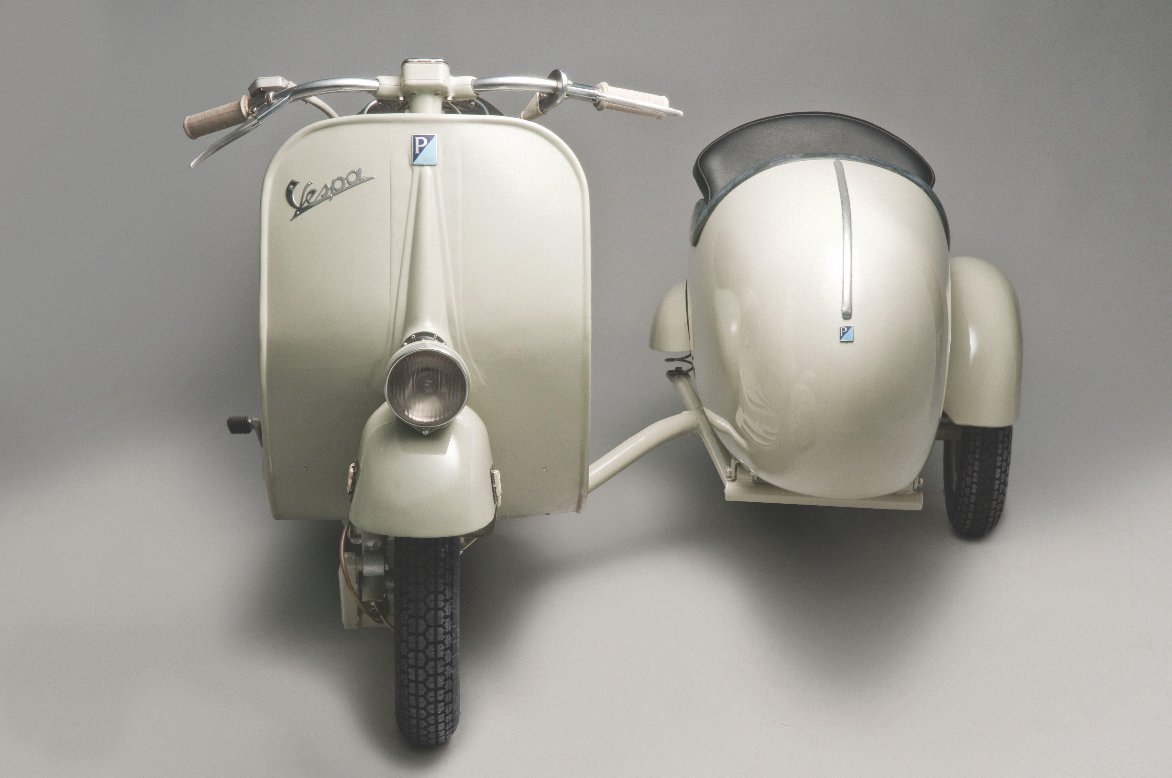 Vespa 125 sidecar piagio | motos con sidecar | Sidecars