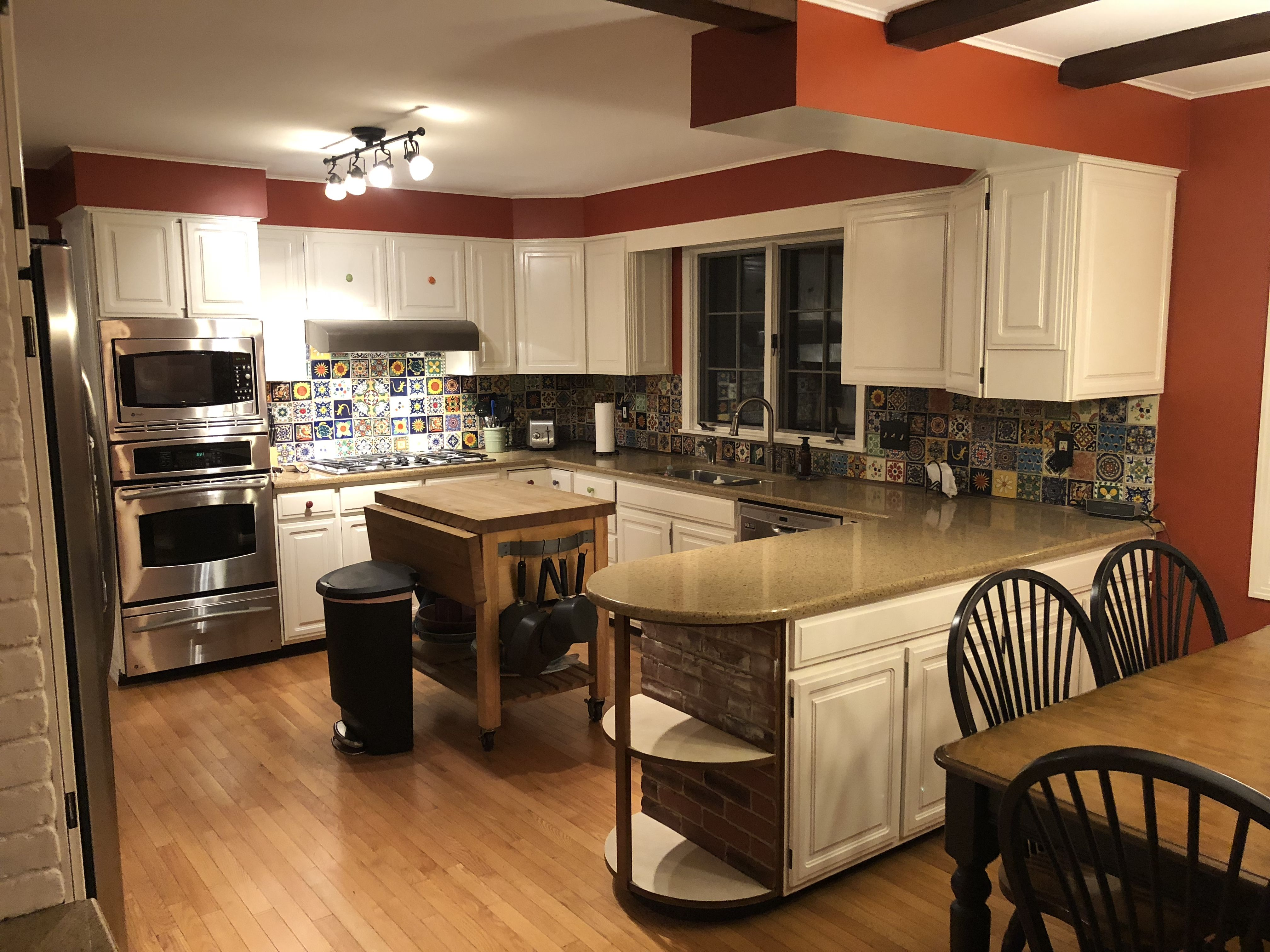 Mexican Tile Backsplash Do it yourself! Paint your kitchen ...