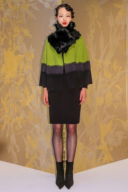STYLE.com Josie Natori Fall 2013 Ready-to-Wear #fashion #style
