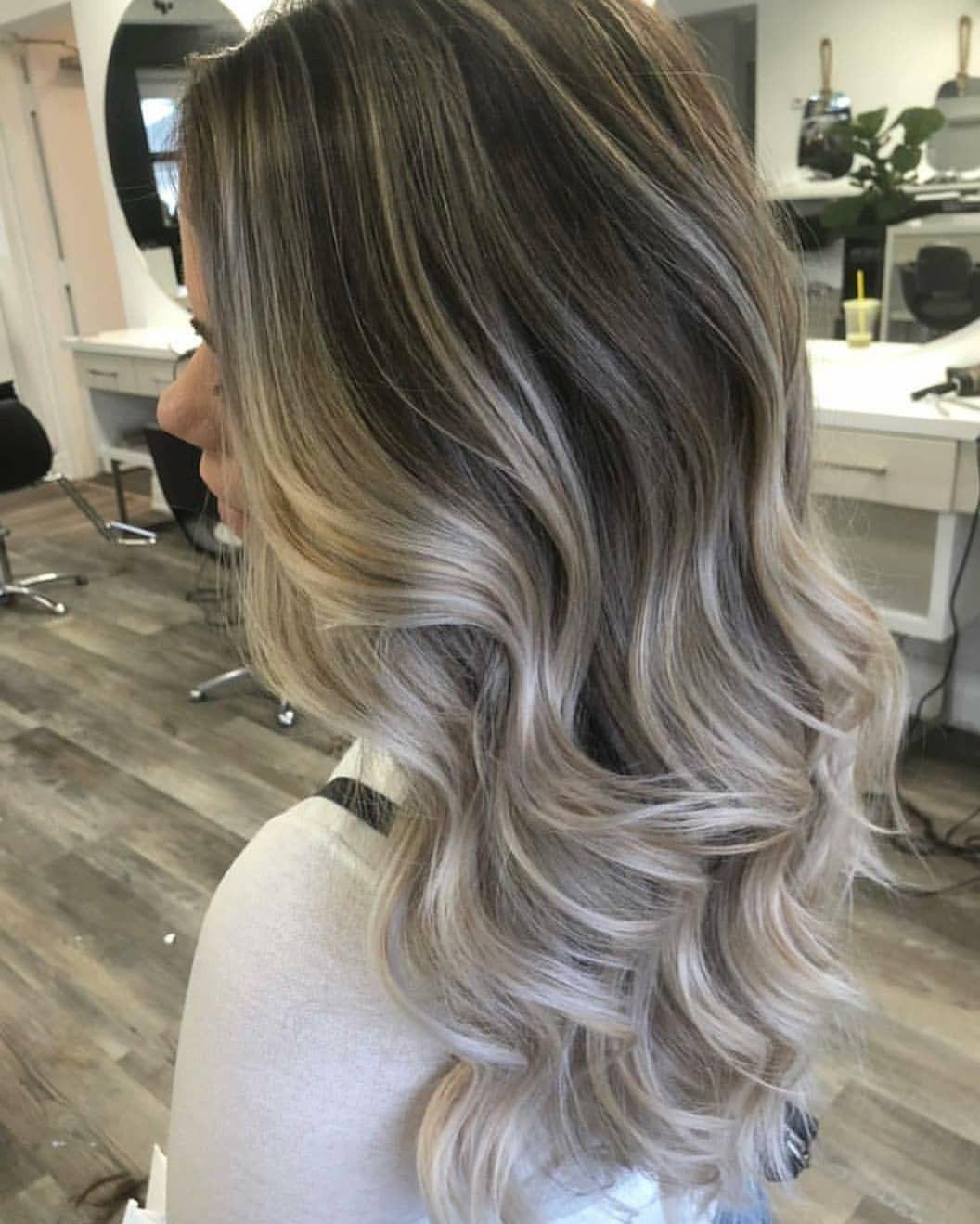 Blonde Brunette Hair Color Spring Hair Color Ash