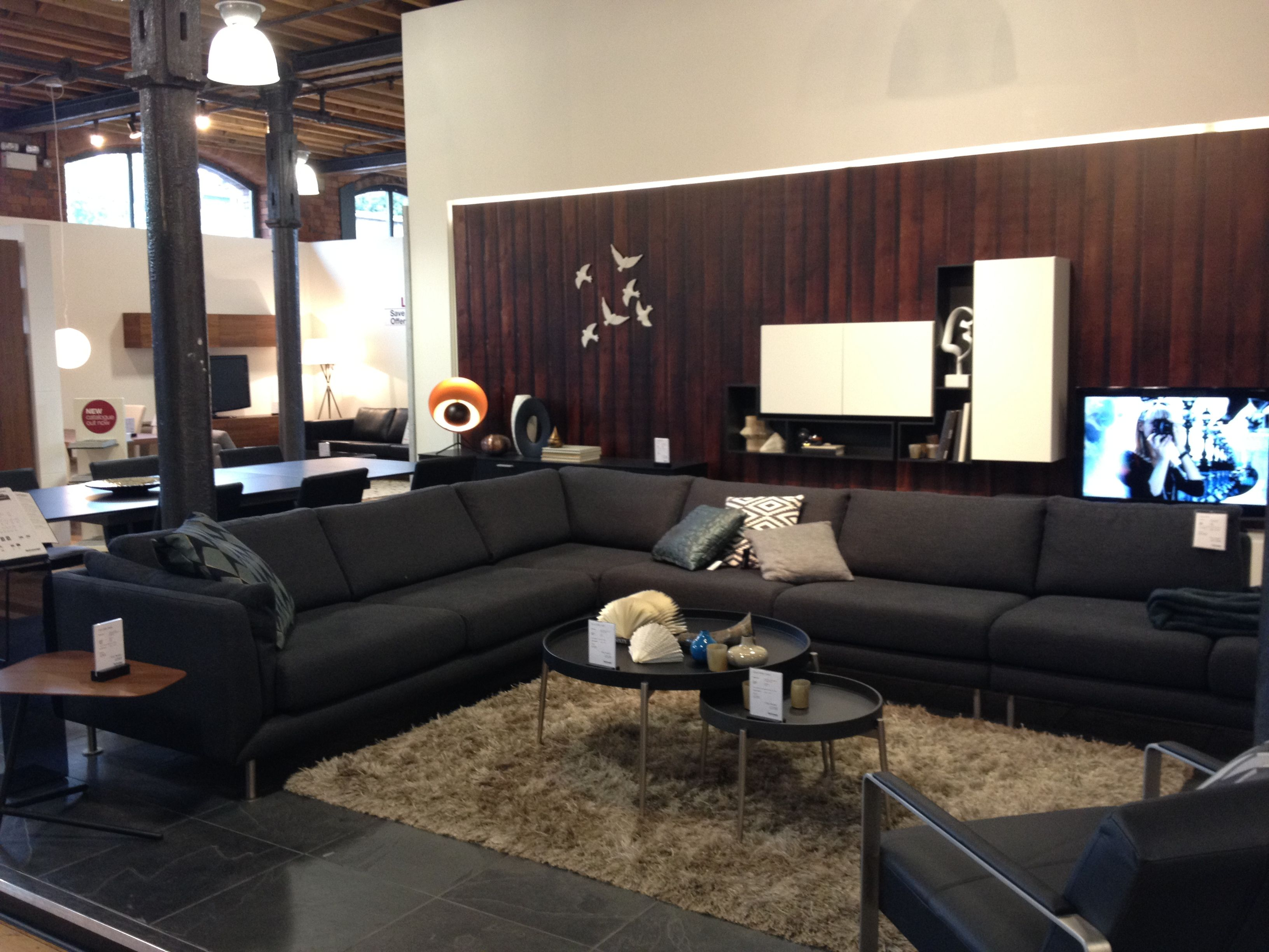 BoConcept Fargo sofa & Ross chair Design Living