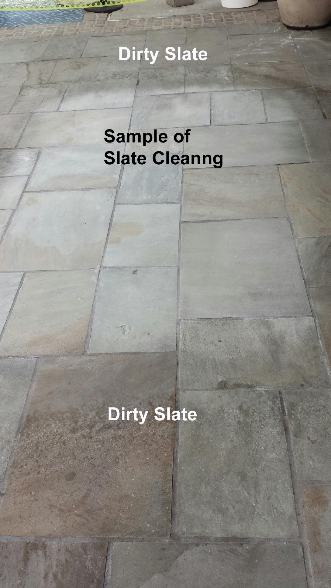 clean textured porcelain tile floors