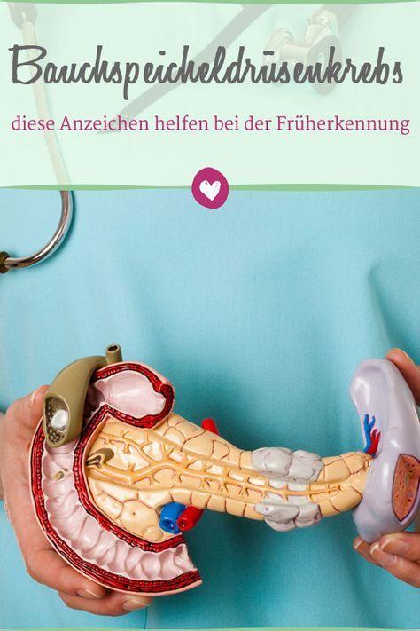 Bauchspeicheldrüsenkrebs: 5 Anzeichen für eine Früherkennung | Pinterest