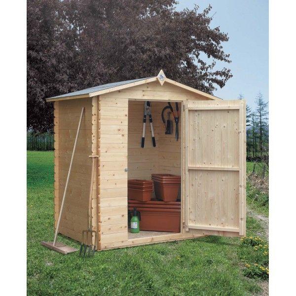 Casetta da giardino in legno modello isa 2 codice hcs033 - Ikea casette da giardino ...