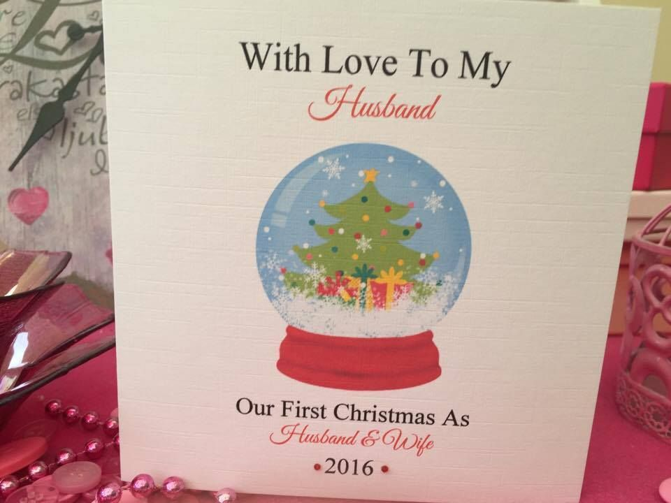 Christmas Cards and Stationeries 10 best Husband