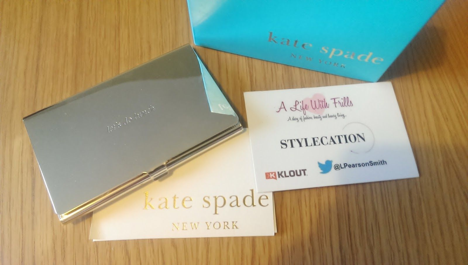 Nice Kate Spade Business Card Contemporary - Business Card Ideas ...