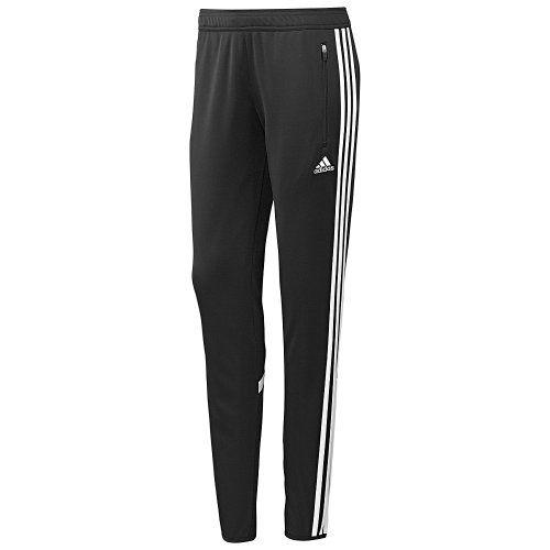 Adidas  mujer 's condivo 14 pantalones de entrenamiento, negro / White, Small adidas