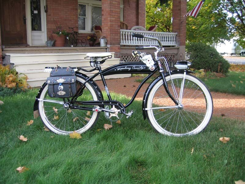 1950s Rollfast Hopalong Cassidy - This month, for Bike of the Month we  present this freshly restored 1950s Hopalong… | Bicycle, Vintage bicycles, Hopalong  cassidy