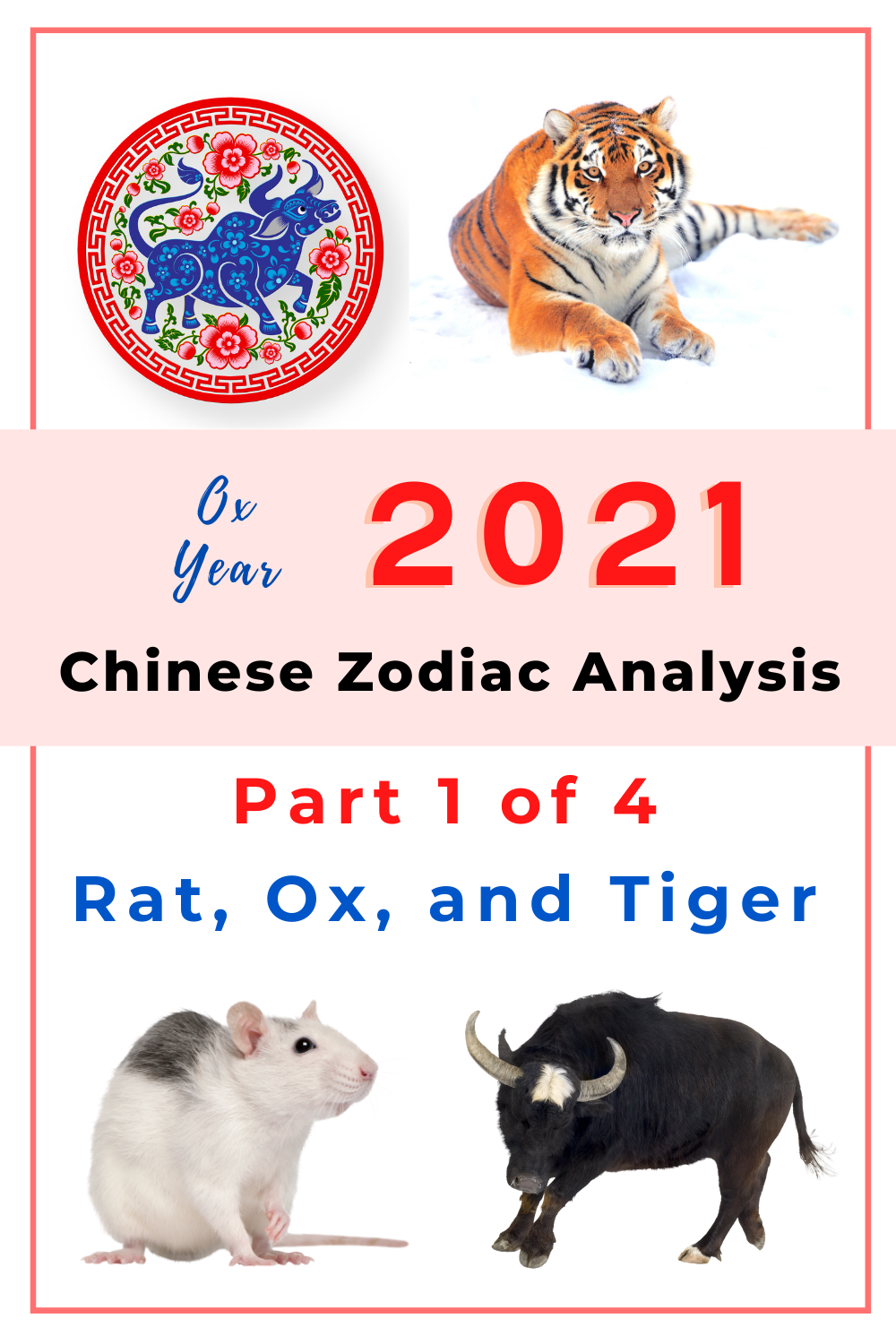 2021 Ox Year Chinese Zodiac Analysis Part 1 Of 4 Rat Ox And Tiger Picture Healer Feng Shui Craft Art Chinese Medicine Chinese Zodiac Chinese Zodiac Tiger Chinese Zodiac Signs