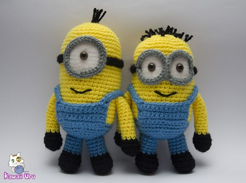 Minions - Despicable me | Yarnific crafts!!! | Pinterest | Crochet ...