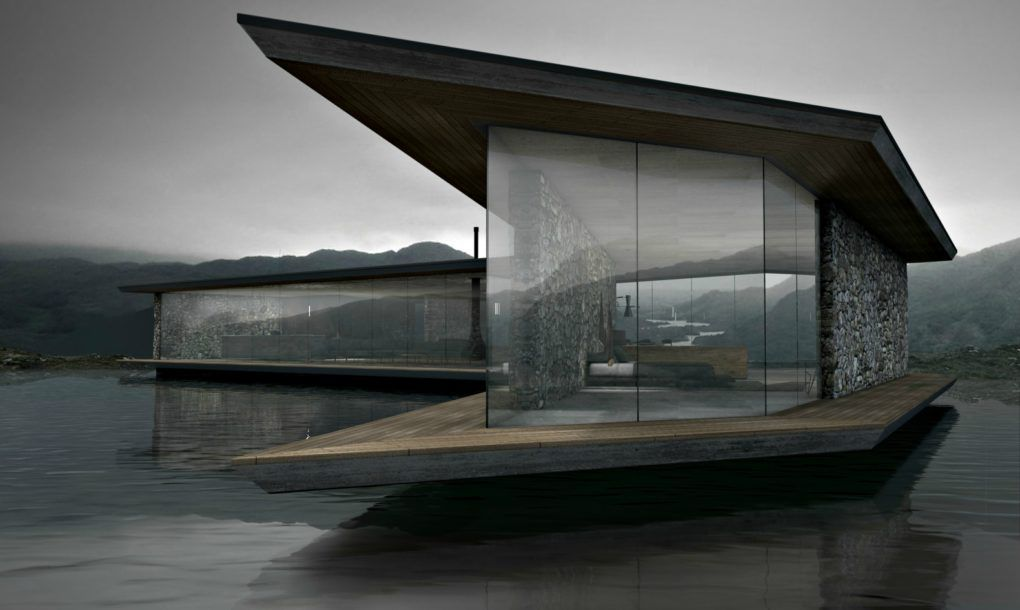Antony Gibbonu0027s Lucent House is a serene