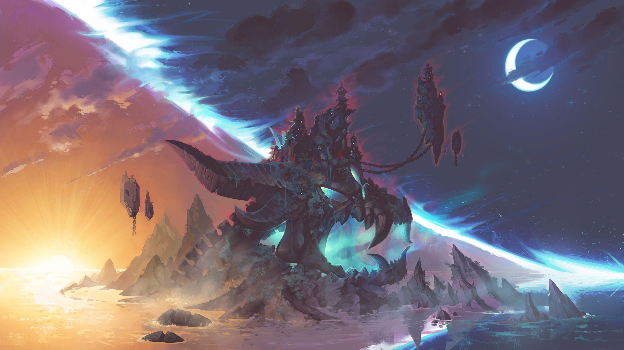 Brawlhalla Demon island 2048x1151 in 2020 Anime