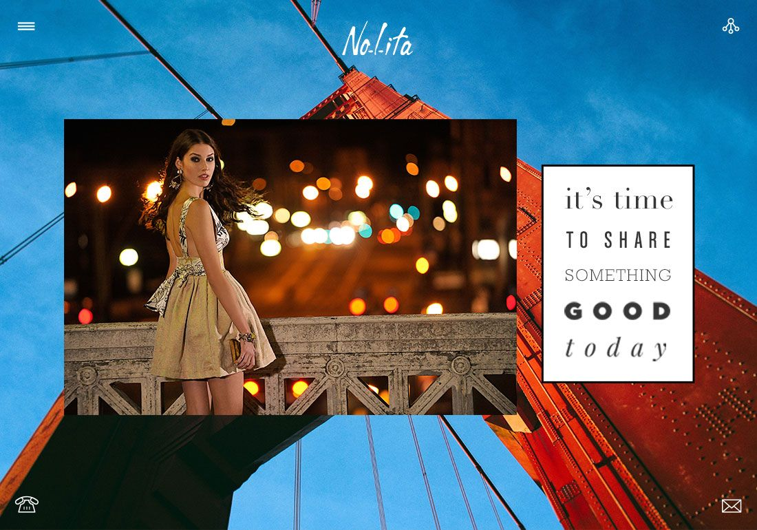 Site of the Day  11 May Nolita By WEGO (Italy) http://www.csswinner.com/details/nolita/10484