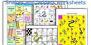 """Résultat de recherche d'images pour """"esl game to print snake and ladders"""""""