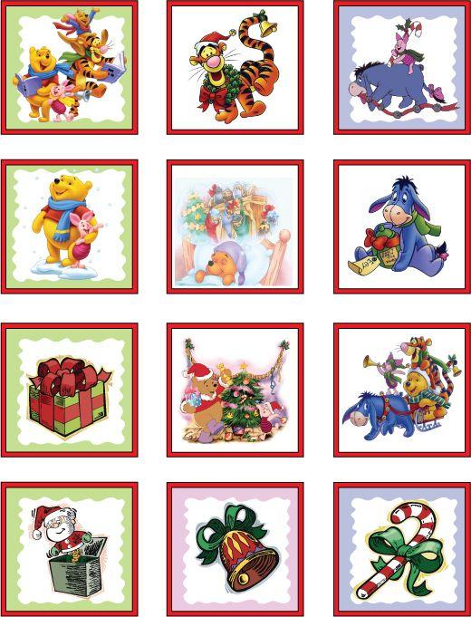 Winnie the Pooh Christmas de jolis embellissements de Noël où on