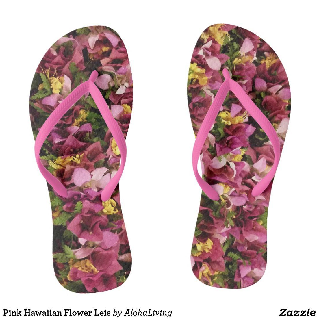 Pink hawaiian flower leis flip flops aloha pinterest hawaiian pink hawaiian flower leis flip flops izmirmasajfo Gallery