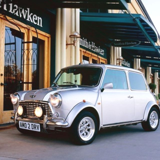 classic silver mini cooper always wanted one someday i ll have one rh pinterest com