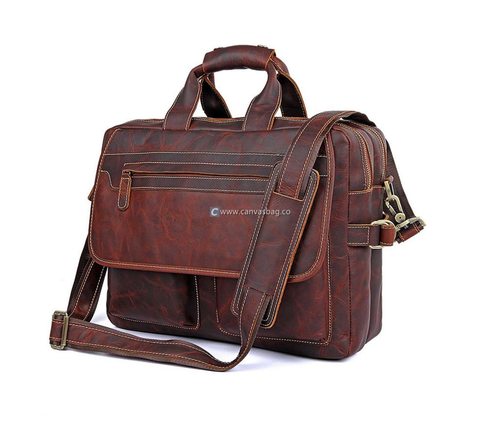 Vintage Leather Laptop Bag Business Messenger Canvas Bag Leather Bag Canvasbag Co Leather Messenger Bag Men Mens Leather Bag Messenger Bag Men