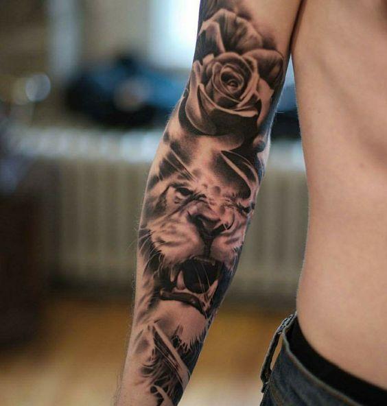 """Photo of Tattoo """"Sleeve"""" für Mädchen und Jungs"""