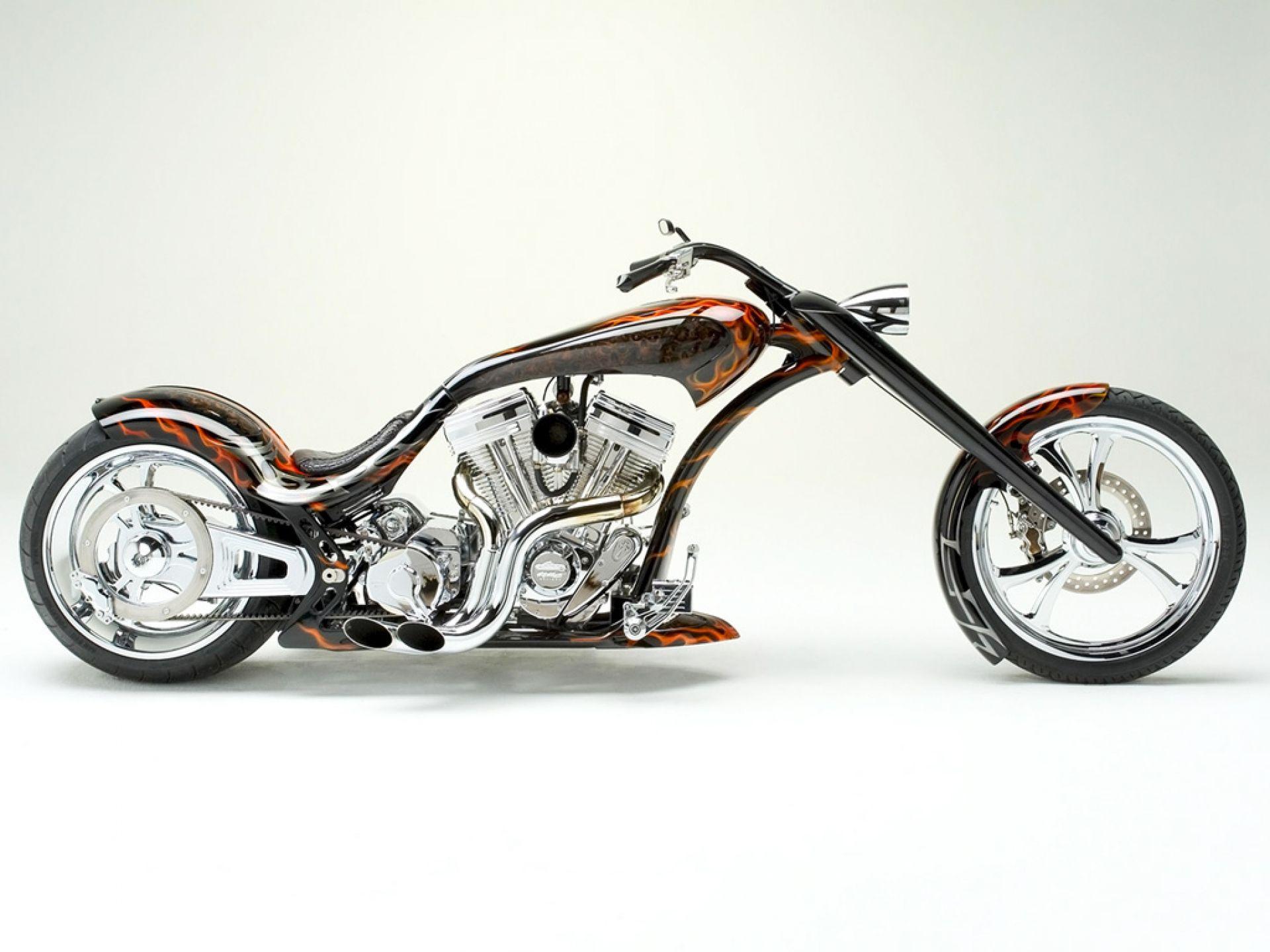 Motocykle choppery