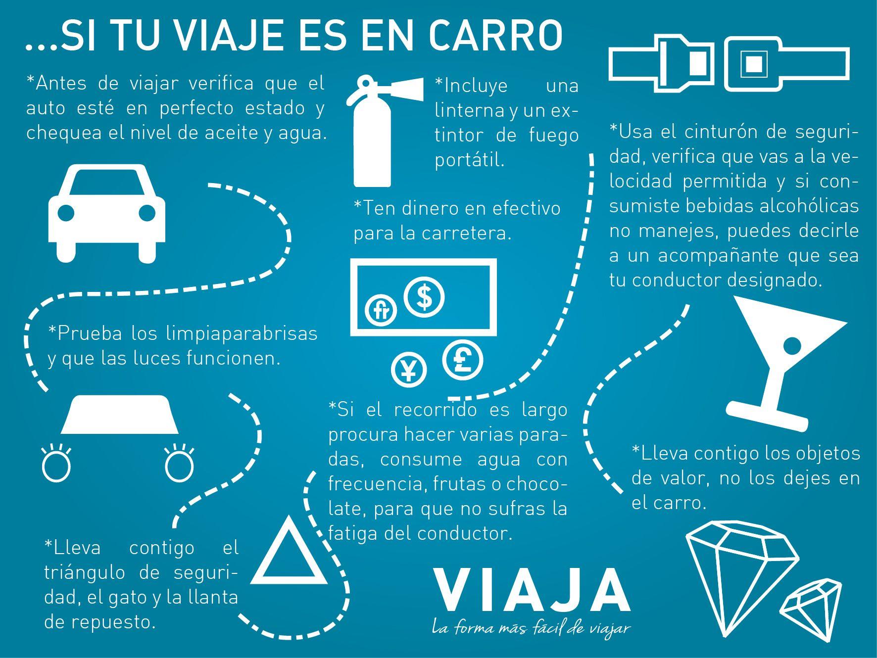 Tips para viajar en Auto. | Tips para viajar, Viaje en auto