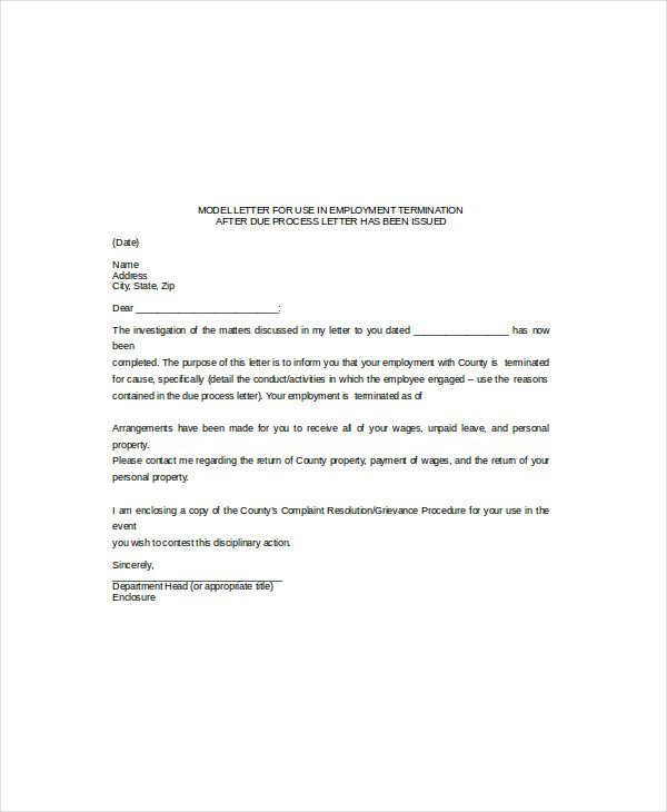 letter format uae termination use template know why all rent - employee letter