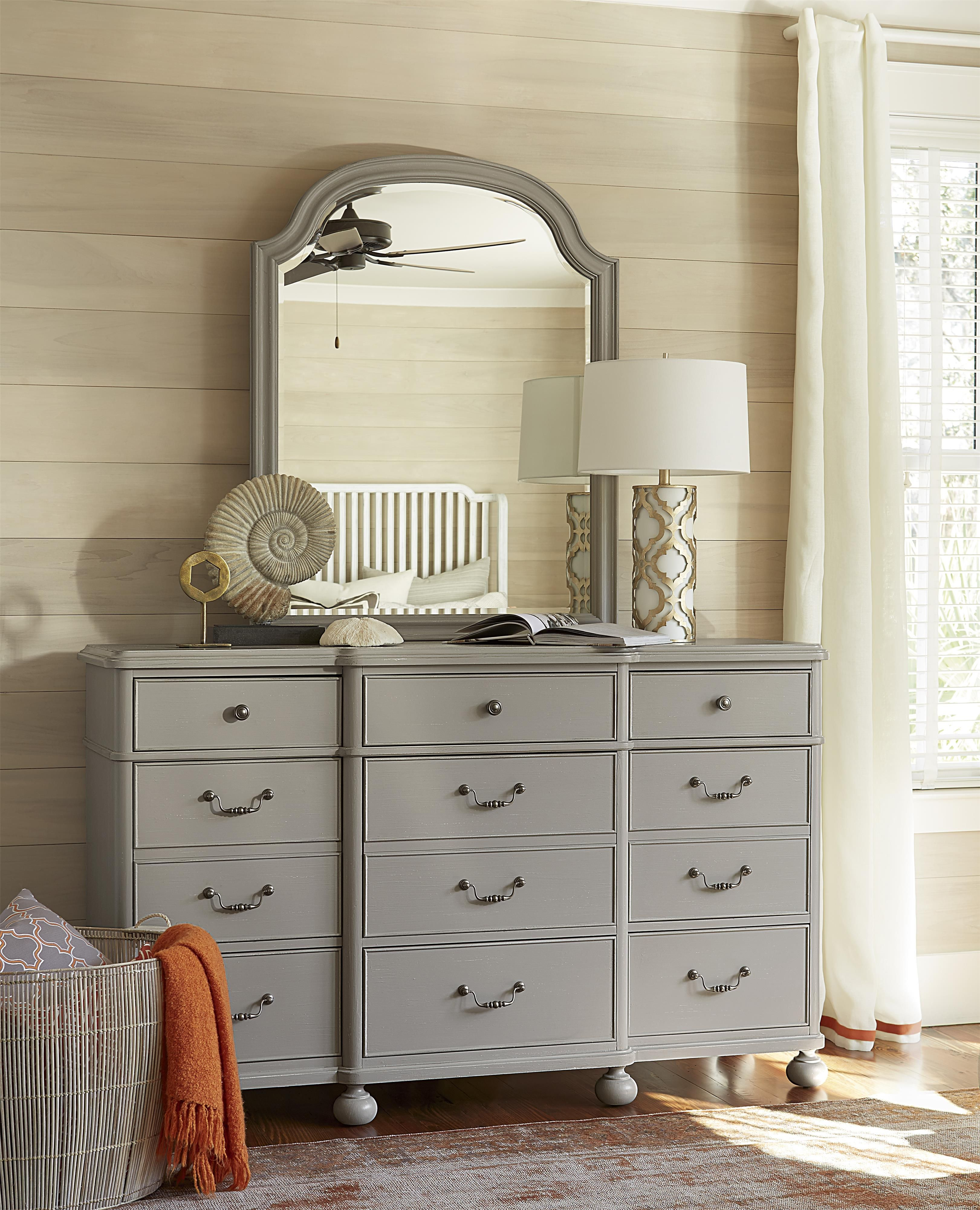 dogwood mirror with arched top by universal at baer s furniture rh pinterest com