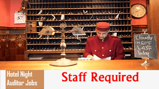 Hotel Night Auditor Vacancies Salary Hourly For  To