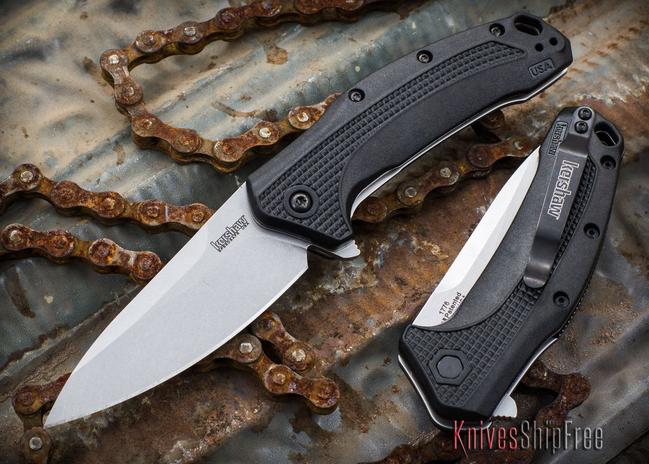 kershaw knives link assisted opening 1776 knives weapons
