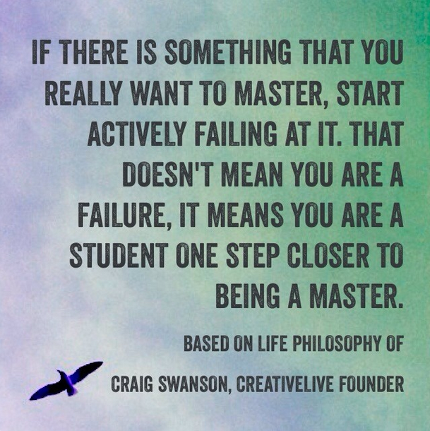 Some Thoughts On Being A Student From Craig Swanson Co Founder Of