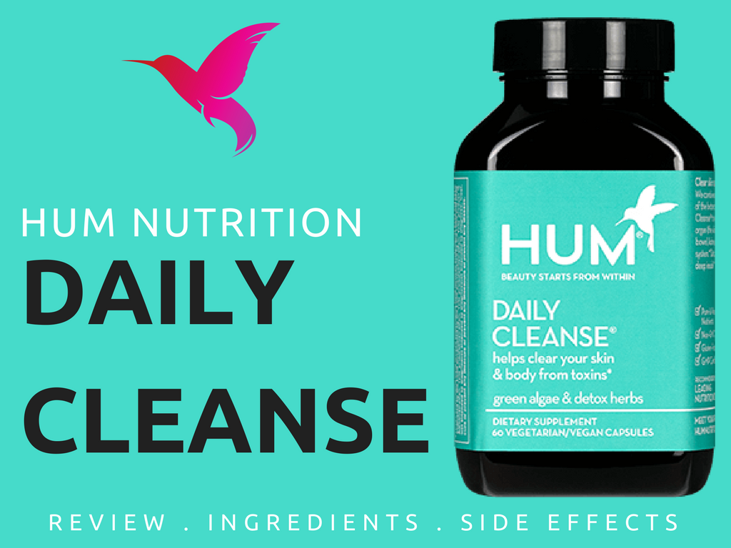 Hum Nutrition Daily Cleanse Acne Reviews- Any Side Effects?   Hum  nutrition, Detox herbs, Cleanse
