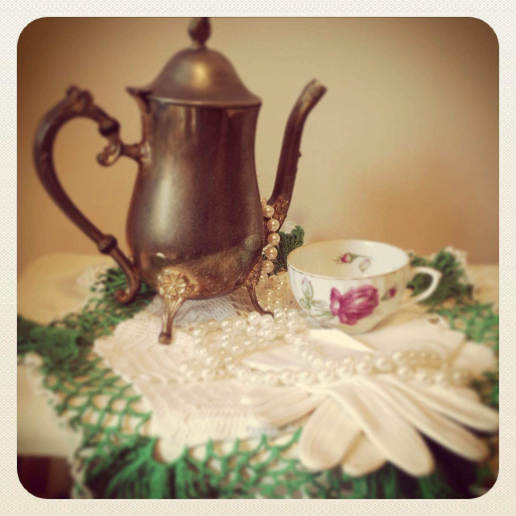 Vintage tea party Great for tea party
