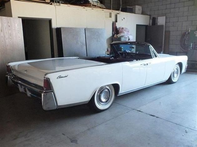 AutoTrader Classics Lincoln Continental White Other - Autotrader classic cars