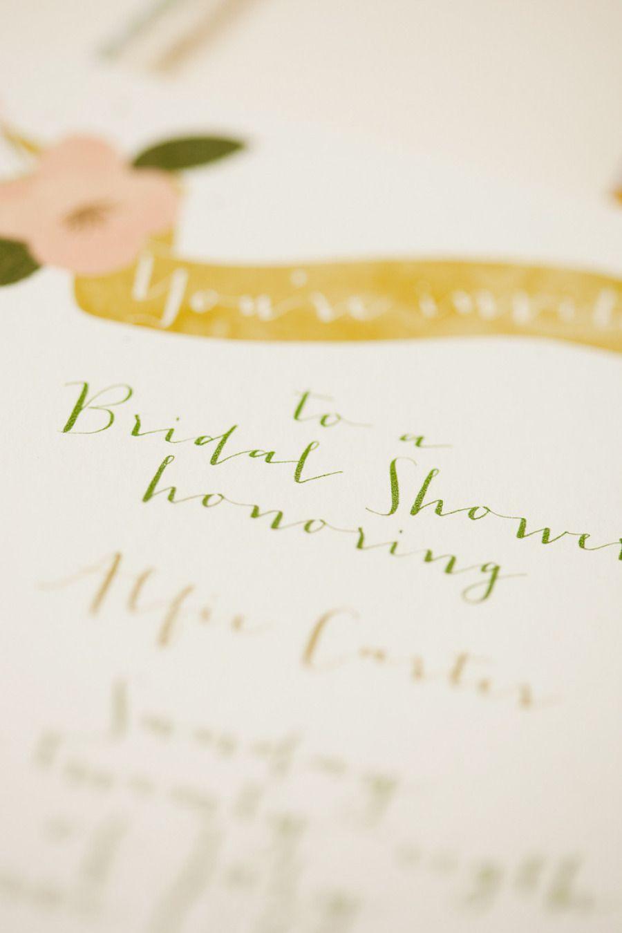 wedding invitations atlanta%0A The NotWedding Atlanta Bridal Shower from Molly McKinley Designs