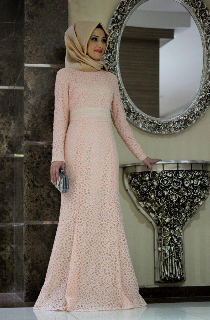 Kapali Gelin Annesi Abiye The Dress Musluman Modasi Elbise
