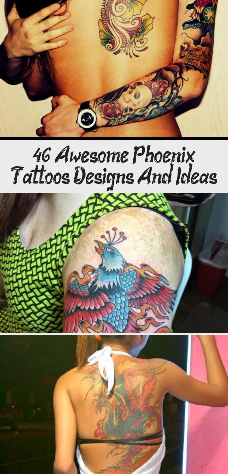 Photo of 46 Awesome Phoenix Tattoos Designs And Ideas – Best Tattoos