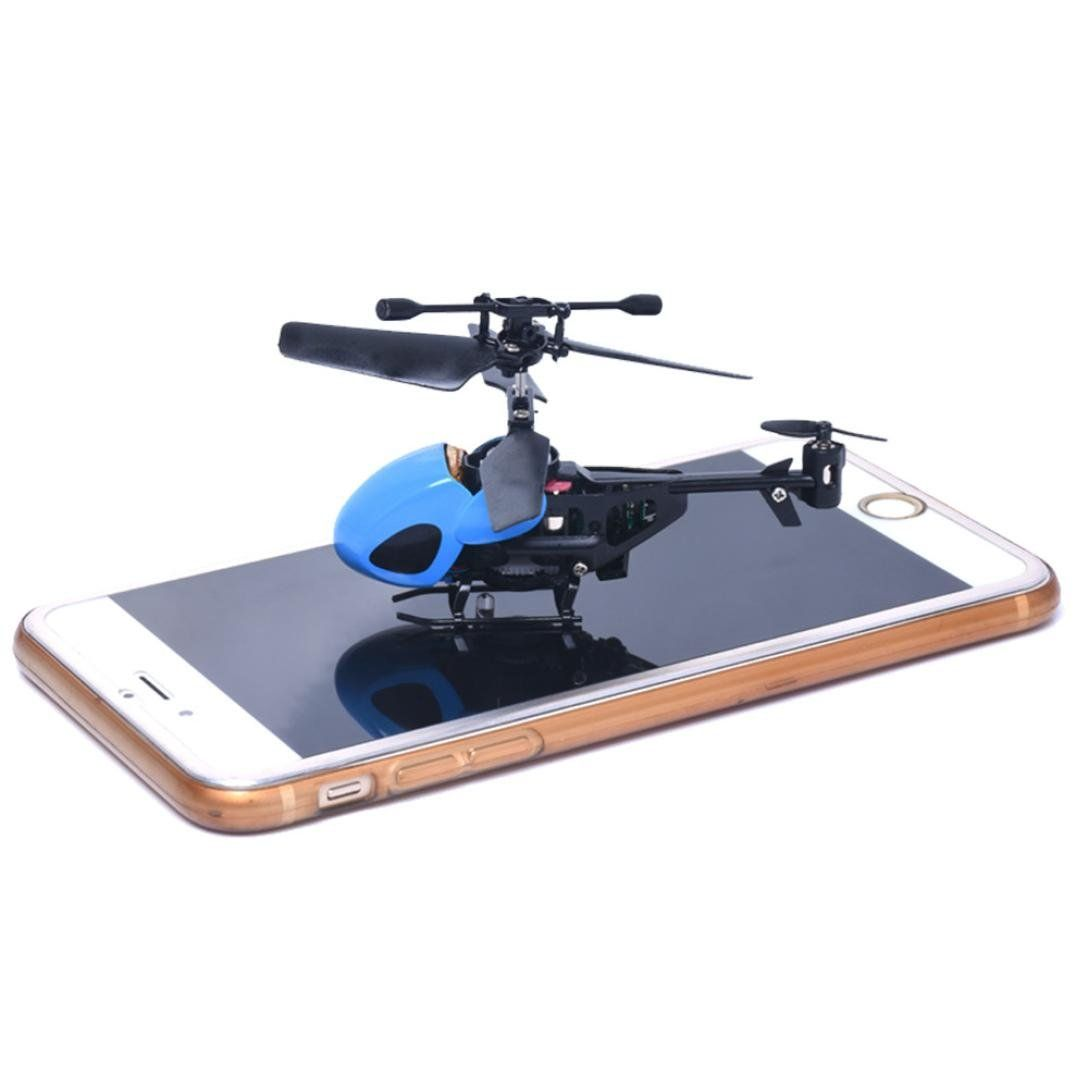 TurboHawk® 3 - channel Remote - controlled Helicopter - 210846, Remote Control Drones at