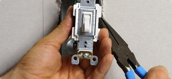 If a fuse blows or a circuit breaker trips every time you turn on a