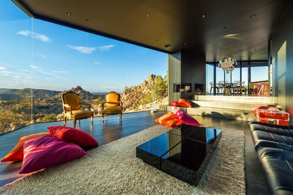 The Black Desert House in Yucca Valley
